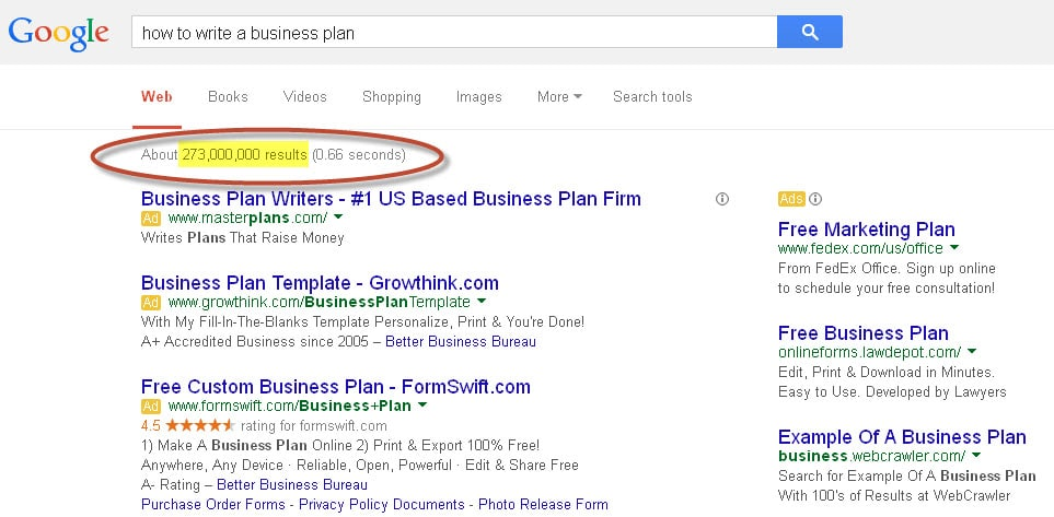 How To Create A Worry Free Business Plan - Growthink business plan template