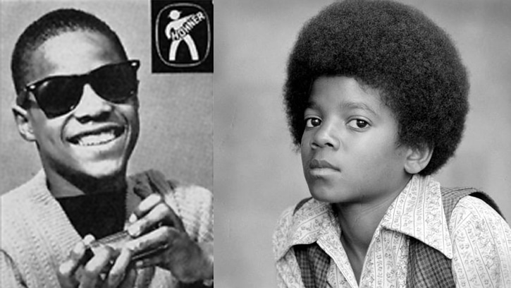 stevie wonder michael jackson young