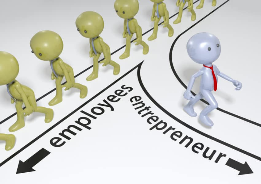 employment vs entrepreneurship