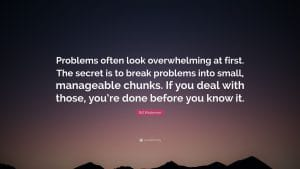 Manageable chunks