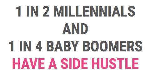 side hustle millennials
